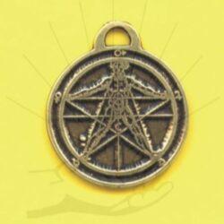 Agrippa's Pentagram - Amulet (#13)
