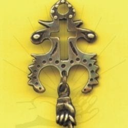 Spanish Cross of the Moon - Talisman (#48)