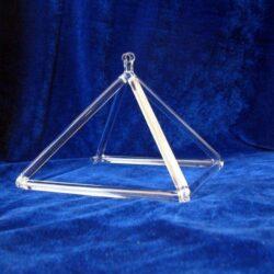 Quartz Crystal Singing Pyramid