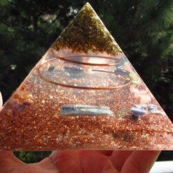 Sri Yantra Orgone Pyramid