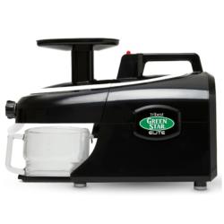 Tribest® Greenstar® Elite Jumbo Twin Gear Slow Masticating Juicer, GSE-5010-B, Black