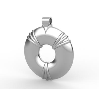 Aulterra Energy Pendant Silver