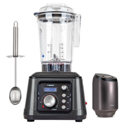 Tribest® Dynapro® Commercial High-Speed Vacuum Blender DPS-2250GY-B, Grey