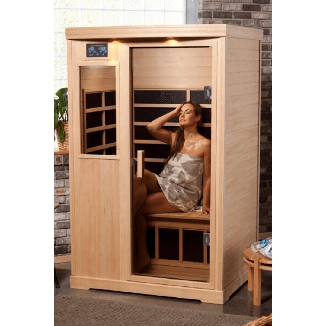 Radiant Health Saunas® E-2H 2 Person Elite Model