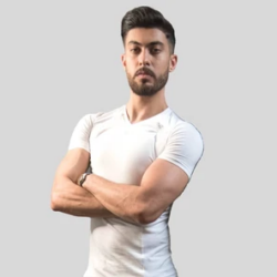 ADRENALEASE Posture Correction Shirt, White