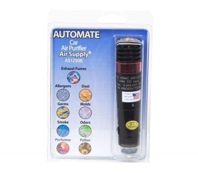 Automate™ Vehicle Ionic Air Purifier Pack Front